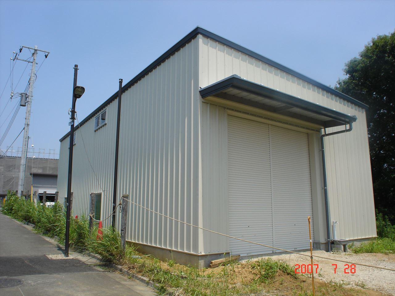 株式会社芝堅造園土木 町田工場新築工事