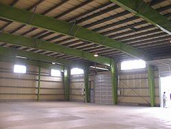 倉庫・工場専用のシステム建築「コアシス建築」
