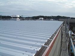 特徴:屋根に耐久力が高い「ガルバリウム鋼板」を採用