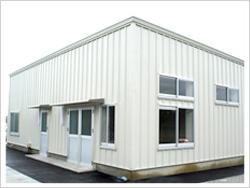 低コスト・短工期で組み立てられるプレハブ建築